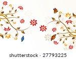 abstract vector flower... | Shutterstock .eps vector #27793225