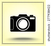 photo camera sign icon  vector... | Shutterstock .eps vector #277938422