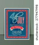 beautiful invitation card... | Shutterstock .eps vector #277947998