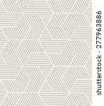 vector seamless pattern. modern ... | Shutterstock .eps vector #277963886