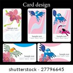 card design | Shutterstock .eps vector #27796645