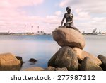 little mermaid  copenhagen ... | Shutterstock . vector #277987112