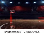 Basketball Court. Sport Arena....