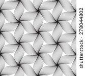 black line graphic pattern... | Shutterstock .eps vector #278044802