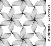 black line graphic pattern... | Shutterstock .eps vector #278044805