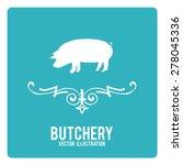butchery illustration over...