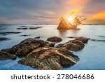 Abandoned Fishing Boat With...