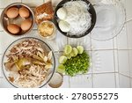 "ingredient for making ""soto... | Shutterstock . vector #278055275"