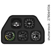 vector aviation airplane glider ...   Shutterstock .eps vector #278064536