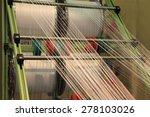 yarn warping machine in a... | Shutterstock . vector #278103026