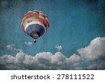 hot air balloon   Shutterstock . vector #278111522