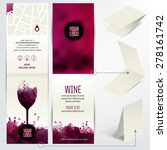 card for wine business ... | Shutterstock .eps vector #278161742