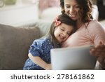 sharing the funny moments with... | Shutterstock . vector #278161862