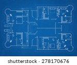 architect blueprint | Shutterstock . vector #278170676
