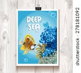 Poster With The Deep Sea...