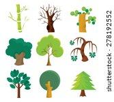 a cartoon vector illustration... | Shutterstock .eps vector #278192552