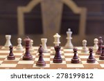 chess game. concept of game and ... | Shutterstock . vector #278199812