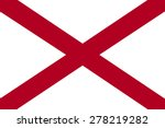 flag of state alabama   Shutterstock .eps vector #278219282