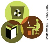 green city enviroment and... | Shutterstock .eps vector #278239382
