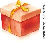 Bright Watercolour Gift Box ...