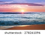 sunrise at punta cana ... | Shutterstock . vector #278261096