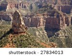the grand canyon seen from the...
