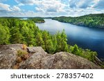 landscape of saimaa lake from... | Shutterstock . vector #278357402