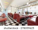 restaurant diner | Shutterstock . vector #278359625