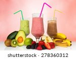 smoothie concept. fruit... | Shutterstock . vector #278360312