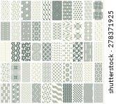 50 geometric seamless pattern...   Shutterstock .eps vector #278371925