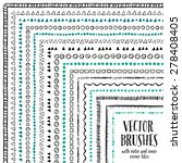 hand drawn decorative vector... | Shutterstock .eps vector #278408405