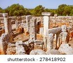 Vintage Looking Ancient Ruins...