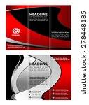 vector  brochure template... | Shutterstock .eps vector #278448185