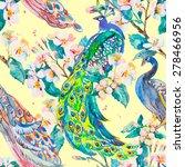 spring pattern.beautiful... | Shutterstock . vector #278466956