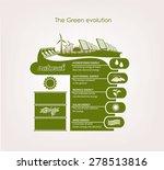 info graphics renewable nature. ... | Shutterstock .eps vector #278513816