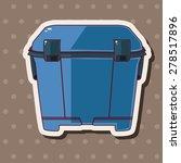 fishing box theme elements | Shutterstock .eps vector #278517896