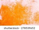 orange abstract watercolor... | Shutterstock . vector #278539652