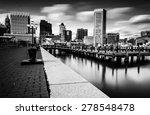 long exposure of the baltimore... | Shutterstock . vector #278548478