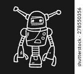 robot doodle | Shutterstock . vector #278550356