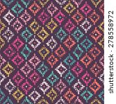 colorful tribal seamless... | Shutterstock .eps vector #278558972
