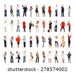 workforce concept people... | Shutterstock . vector #278574002