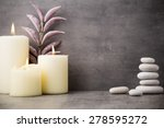 stones spa treatment scene  zen ... | Shutterstock . vector #278595272