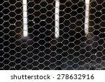 wire on rabbit's hutch | Shutterstock . vector #278632916