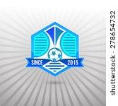 set of soccer football badge... | Shutterstock .eps vector #278654732