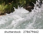 Background Of Whitewater On Th...