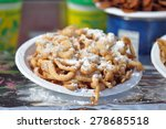 Fried Dough Funnel Cake Or...