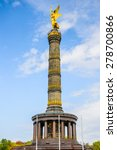 victory column  berlin  germany | Shutterstock . vector #278700866