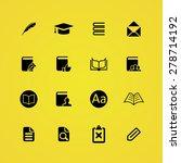 books icons universal set for... | Shutterstock .eps vector #278714192