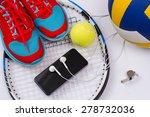 Sport Equipment. Set For Sport...