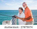 retired senior couple enjoys... | Shutterstock . vector #27875074